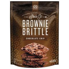 Brownie Brittle, Chocolate Chip, 5 oz, 12 Bags/Carton