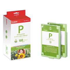 EP100 (E-P100) Easy Photo Pack Ink & Paper Set, Tri-Color