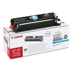 Canon EP87C (EP-87) Toner, Cyan