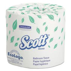 Standard Roll Bathroom Tissue, 2-Ply, 550 Sheets/Roll, 20 Rolls/Carton