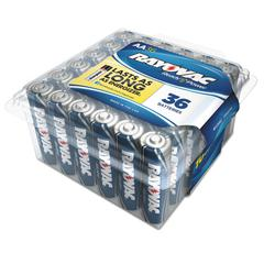 High Energy Premium Alkaline Battery, AA, 36/Pack