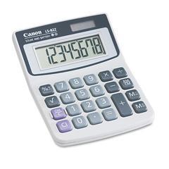 LS82Z Minidesk Calculator, 8-Digit LCD