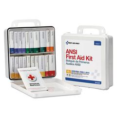 Unitized Weatherproof ANSI Class A+ First Aid Kit for 50 People, 24 Units