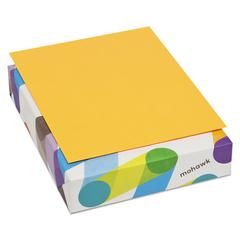 BriteHue Multipurpose Colored Paper, 20lb, 8 1/2 x 11, Ultra Orange, 500 Sheets