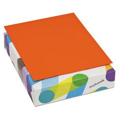 BriteHue Multipurpose Colored Paper, 20lb, 8 1/2 x 11, Orange, 500 Sheets