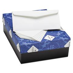 25% Cotton Business Envelopes, Bright White, Wove Finish, 24 lbs, 4 1/8 x 9 1/2