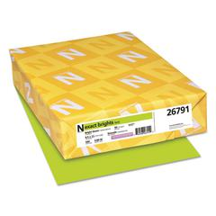 Exact Brights Paper, 8 1/2 x 11, Bright Green, 20lb, 500 Sheets