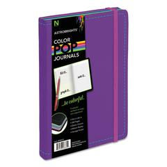 ColorPop Journal, College Ruled, 8 1/4 x 5 1/8, Purple, 240 Sheets