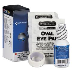 Eyewash Set with Eyepads and Adhesive Tape