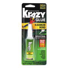 Maximum Bond Krazy Glue, Clear, 0.52 oz Tube