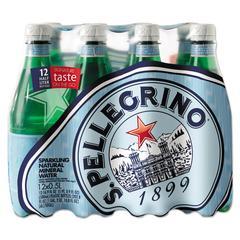 Sparkling Natural Mineral Water, 16.9 oz Bottle, 12/Pack