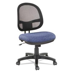 Alera Interval Series Swivel/Tilt Mesh Chair, Marine Blue