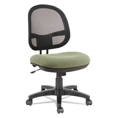 Alera Interval Series Swivel/Tilt Mesh Chair, Parrot Green