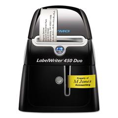 "LabelWriter DUO Printer, 2 3/10"" Labels, 71 Label/Min, 5 1/2w x 7 4/5d x 7 3/10h"