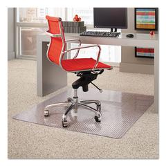 Dimensions Chair Mat for Carpet, 45 x 53, Clear
