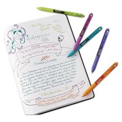 InkJoy Gel Retractable Pen, 0.5mm, Blue Ink, Dozen
