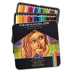 Premier Colored Woodcase Pencils, 48 Assorted Colors/Set