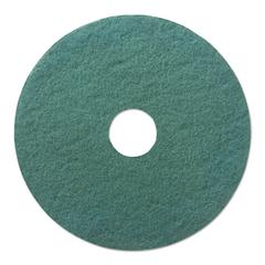 "Ultra High-Speed Floor Pads, 20"" Diameter, Aqua, 5/Carton"
