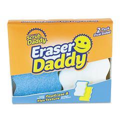 """Eraser Daddy Scrubber, Assorted, 5.563"""" x 5.313"""" x 0.938"""", 2/Pack"""
