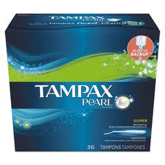 Pearl Tampons, Super, 36/Box