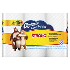 Essentials Strong Bathroom Tissue, 1-Ply, 4 x 3.92, 300/Roll, 6 Roll/Pack