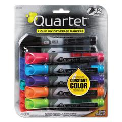 EnduraGlide Dry Erase Marker, Chisel Tip, Assorted Colors, 12/Set