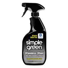 Stainless Steel One-Step Cleaner & Polish, 32oz Spray Bottle