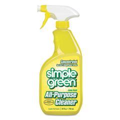 Industrial Cleaner & Degreaser, Concentrated, Lemon, 24 oz Bottle, 12/Carton