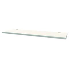 Voi Rectangular Worksurface, 72w x 24d, Brilliant White