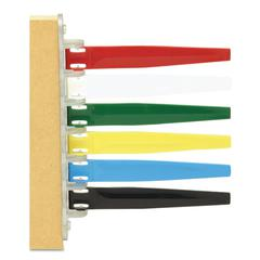 Status Flags, 6 Flags, Assorted Colors