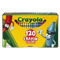 Classic Color Crayons, Tuck Box, 120 Colors