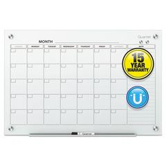 Infinity Magnetic Glass Calendar Board, 36 x 24