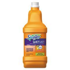 WetJet System Cleaning-Solution Refill, Wood Cleaner, 1.25L Btl, Citrus, 6/CT