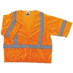 GloWear 8310HL Type R Class 3 Economy Mesh Vest, Orange, 4XL/5XL