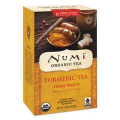 Turmeric Tea, Three Roots, 1.42 oz Bag, 12/Box