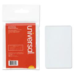 Clear Laminating Pouches, 5 mil, 2 1/8 x 3 3/8, Business Card Style, 25/Pack