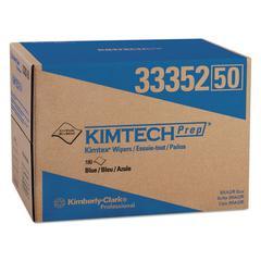 KIMTEX Wipers, BRAG Box, 12 1/10 x 16 4/5, Blue, 180/Box