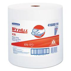 X70 Cloths, Jumbo Roll, Perf., 12 1/2 x 13 2/5, White, 870 Towels/Roll