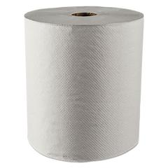 "Scott Hard Roll Towels, 100% Recycled, 1.5"" Core, White, 8"" x 800ft, 12 Rolls/Carton"