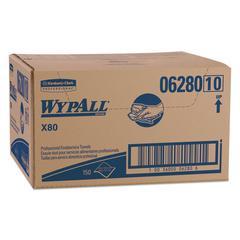X80 Foodservice Towel, Kimfresh Antimicrobial Hydroknit, 12 1/2 x 23 1/2, 150/Ct
