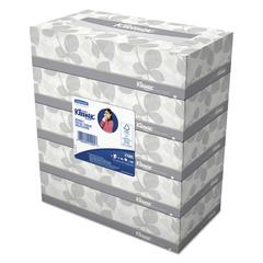 Kleenex White Facial Tissue, 2-Ply, 100 Tissues/Box, 5 Boxes/Pack, 6 Packs/Carton