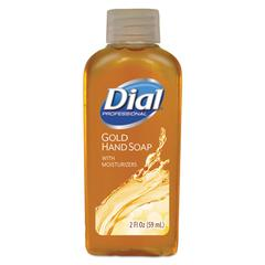 Gold Antimicrobial Liquid Hand Soap, Floral Fragrance, 2oz Bottle, 48/Carton