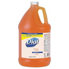 Dial Professional Gold Antimicrobial Liquid Hand Soap, Floral Fragrance, 1gal Bottle