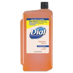 Gold Antimicrobial Liquid Hand Soap, Floral, 1000mL Refill, 8/Carton