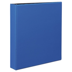 "Durable Binder with Slant Rings, 11 x 8 1/2, 1 1/2"", Blue"
