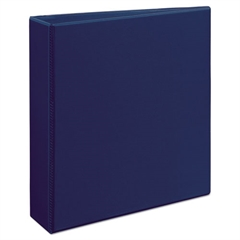 "Avery Durable View Binder w/Slant Rings, 11 x 8 1/2, 2"" Cap, Blue"