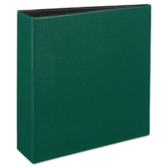 """Avery Durable Binder with Slant Rings, 11 x 8 1/2, 3"""", Green"""