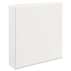 "Avery Heavy-Duty View Binder w/Locking 1-Touch EZD Rings, 2"" Cap, White"