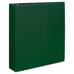 "Avery Durable Binder with Slant Rings, 11 x 8 1/2, 2"", Green"