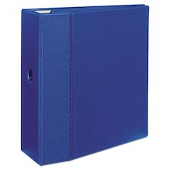 "Avery Heavy-Duty Binder with One Touch EZD Rings, 11 x 8 1/2, 5"" Capacity, Blue"